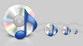 CD Note Icon, Music