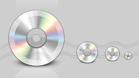 Compact Disc Icon, CD