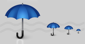 Umbrella Icon, Protection